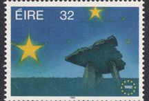 European Single Market Stamps / The European Single Market was agreed upon in 1992, and the twelve member countries all issued a stamp to commemorate this event.