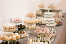 wedding party sweet  table
