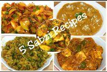 vegetable,paneer, dal, kofte