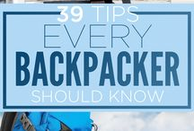 Travel / Reistips, backpacken