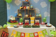 KIDS PARTY - ANGRY BIRDS