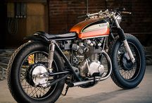 Cool cafe motorcycles