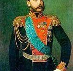 Tsar Alexandre II, Maria Alexandrovna et famille