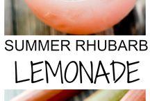 Limonade et smoothie