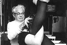 Joseph Pilates / Classic photos of Joseph Pilates and his New York studio