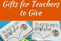 GIFTS: TEACHER & CLASS