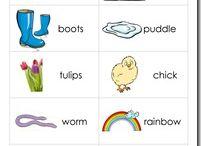 Spring Unit for ESL/ELL Children / by Laurie Moulton (Elementary ESL)