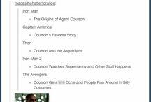 Agent Phil Coulson / AKA the coolest SHIELD Agent to exist