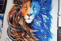 Löwentattoos