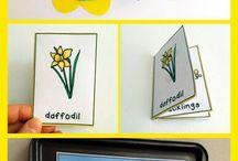 Blumen-deutschunterricht