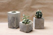 Concrete/cement planters