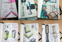Sketches industrial design