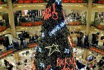 елка в галерее Лафайет