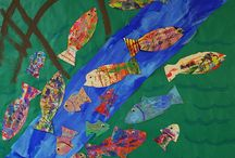 Vesiväri kalat