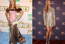 Estilo das famosas - antes e depois / Você prefere antes ou agora? Veja a evolução - ou não - de estilo das famosas