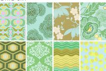 I think I see a pattern / Patterns that please me, whether on fabric, paper, carpet, or... other stuff.