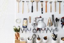 Keep it clean / Home organization with clean lines