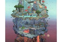 Minecraft Arts