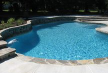 Pool Designs / At Elite Pools we can create any pool shape that you desire. Check out these pins for some ideas on your future look!