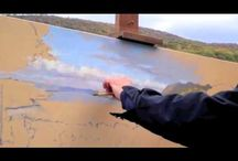 Painting  tutorial  videos.