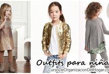 Outfits para niñas,Ideas de como vestir a tus hijas de forma moderna y de acuerdo a su edad