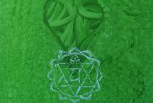 Chakra arte immagini / Le sette opere icone dei chakra dal progetto L'Ottavo Chakra