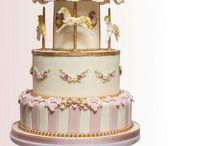 carousel cakes