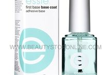 essie Coats & Treatments / The entire selection of Essie Top Coats, Base Coats & Nail Treatments carried @ Beauty Stop Online