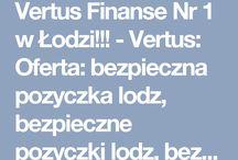 Vertus Finanse Nr 1 w Łodzi!!!