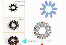 BW (Duo,Tila, Triangle,Hecsagon beads)