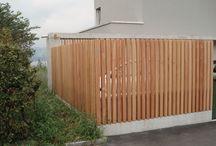 Zaun / Sichtschutz