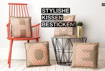 DIY Sticken / Stickanleitungen und -tutorials