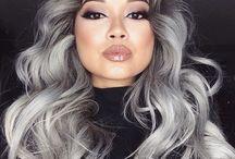 cinza hair