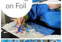 Van Gogh inspired activities for kids / Van Gogh paintings are wonderful insoiration for kids activities
