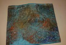 Mes carnets de notes textile