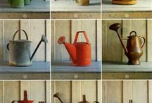 Antique Watering Cans & Pumps / by Brenda Ison
