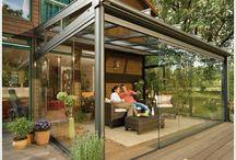 Glass patios