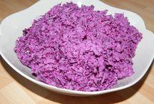 Saláták - салаты - salads
