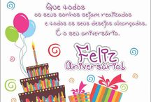 Mensagem aniversário
