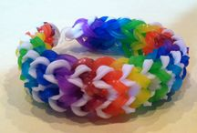Loom bands / Rainbowloom design / DIY