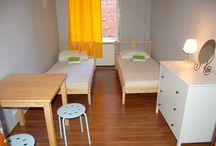 Pokój dwuosobowy z łazienką wspólną/Twin room with shared bathroom
