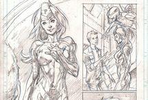 Comic Pages Pencils