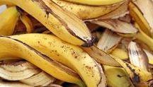 como aproveitar cascas de banana
