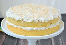 Cakes / Pineapple coconut