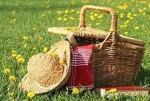 Picnics! / Life's a picnic!  Add some panache.