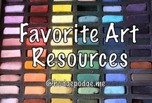 Homeschool Art  / How to's & Resources / by The Happy Housewife
