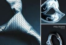 Fifty Shades / Fifty Shades of Grey, by E.L. James / by Lindsay Draper