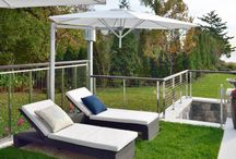Old Greenwich, Connecticut / Ithaca Style pool fence cable railing and vertical cable railing in 316 marine grade stainless steel.