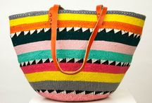 TBR | THE BASKET BAG / Handwoven bags made from sisal & up-cycled wool. Bring the Summer trend of aztec pattern to your wardrobe with this seasons must have!