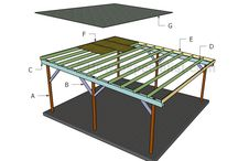 How to build a carport / How to build a carport - Free carport plans - Building a wooden carport
